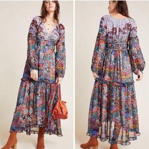 NWT Anthro Maeve Annabella Maxi Dress